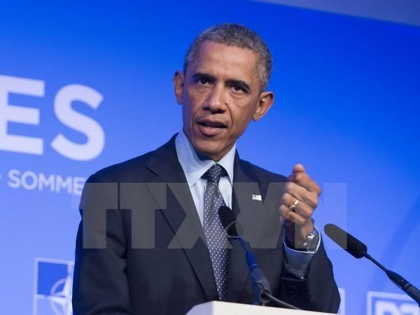 US-Präsident vereinbart erneut die Sicherheit für Israel zu schützen - ảnh 1