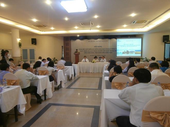 Der Entwicklungsplan des Tourismus an der Küste in Südzentralvietnam bis 2020 - ảnh 1