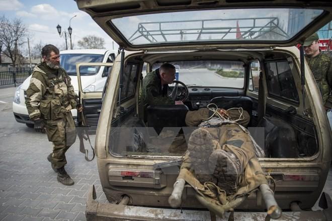 Auseinandersetzungen werden in der Ostukraine fortgesetzt - ảnh 1