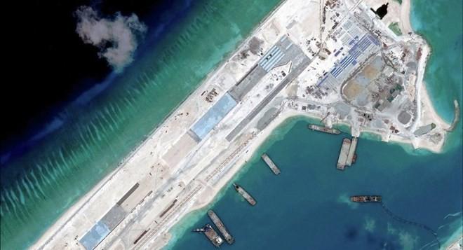 USA: China soll sofort den Ausbau der künstlichen Inseln im Ostmeer stoppen - ảnh 1