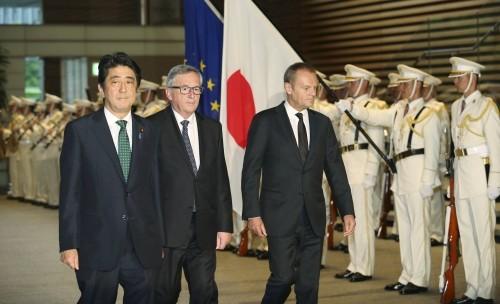Japan und die EU zeigen sich tief besorgt über die Handlung Chinas im Ostmeer - ảnh 1