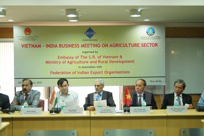 Vietnam und Indien verstärken die Kooperation in der Landwirtschaft - ảnh 1