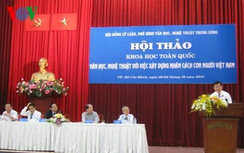 """Staatspräsident Truong Tan Sang nimmt an Seminar """"Kultur, Kunst für Mentalität der Vietnamesen"""" teil - ảnh 1"""