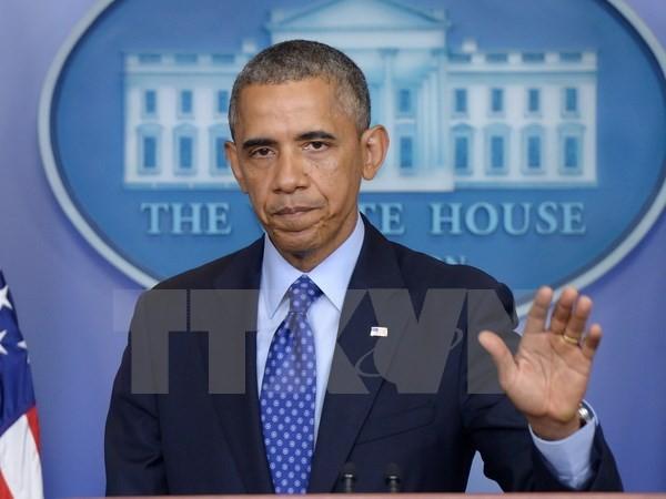 US-Präsident Barack Obama entschuldigt sich für Luftangriff auf Krankenhaus in Afghanistan - ảnh 1