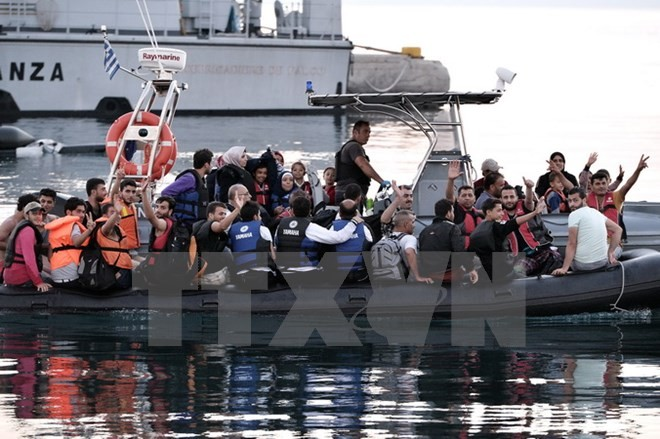 EP verabschiedet ein zusätzliches Budget von mehr als 400 Millionen Euro für die Flüchtlingskrise - ảnh 1