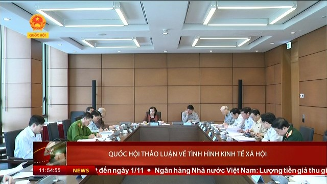 Das Parlament berät über die sozial-wirtschaftliche Lage - ảnh 1