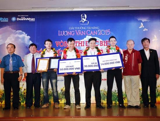 "Verleihung des Talentpreises ""Luong Van Can"" 2015 - ảnh 1"