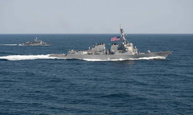 Die USA und China einigen sich auf Vereinbarung zum Verzicht auf Ausschreitungen im Meer - ảnh 1