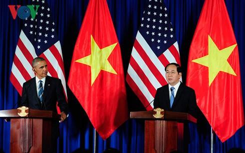 Die gemeisame Erklärung zwischen SR Vietnam und den USA - ảnh 1