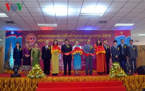Eröffnung der Handelsmesse von Vietnam und Laos 2016 - ảnh 1