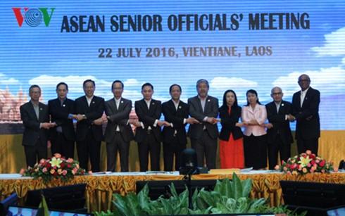 Eröffnung der Sitzungen zwischen ASEAN und seinen Partnerländern - ảnh 1