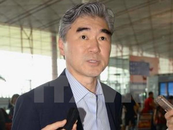 Japan und die USA suchen starke Maßnahmen gegen Nordkorea - ảnh 1
