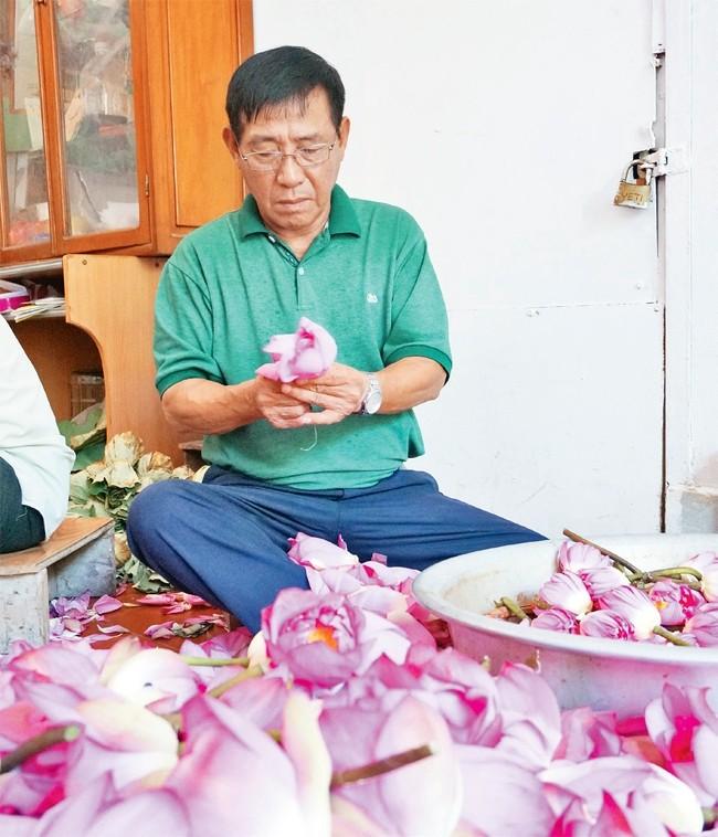 """Vu Hoa Thao und die Marke """"Lotustee Quang An"""" - ảnh 1"""