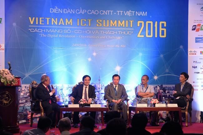 Abschlussveranstaltung des Forums für IT und Telekommunikation Vietnam  - ảnh 1