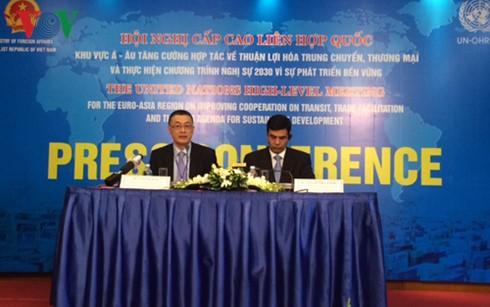 Abschluss der Konferenz über Zusammenarbeit in der Begünstigung der Logistik und des Handels - ảnh 1