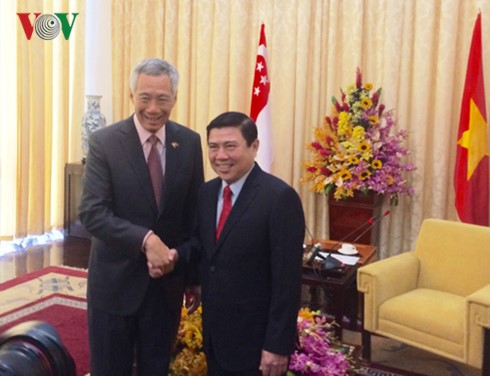 Ho-Chi-Minh-Stadt bietet beste Bedingungen für Investoren aus Singapur - ảnh 1