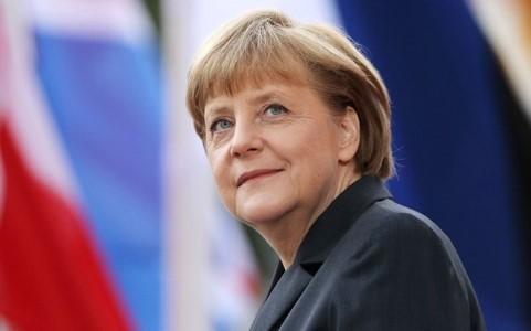 CDU/CSU der Bundeskanzlerin Angela Merkel hat bei der Bundestagwahl gewonnen - ảnh 1