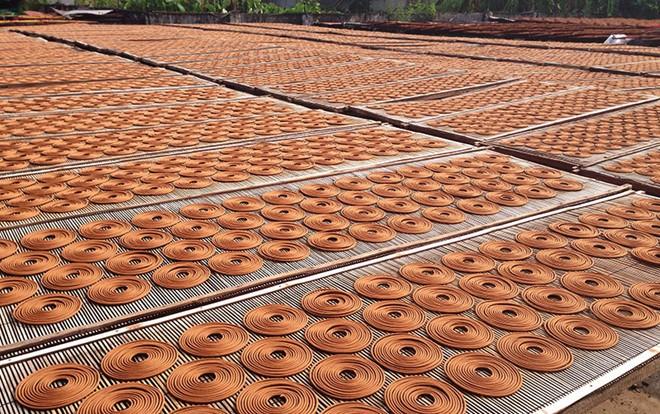 Herstellung von Räucherstäbchen in Cao Thon - ảnh 2
