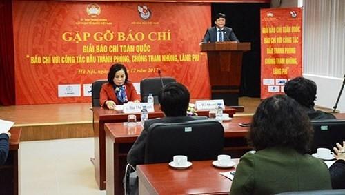 Ehrung von Pressewerken über die Korruptionsbekämpfung - ảnh 1