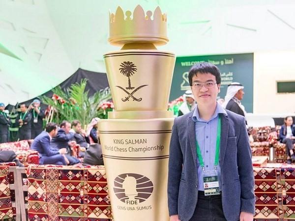 Der vietnamesische Schachspieler Le Quang Liem steht an der 23. Stelle der Weltrangliste - ảnh 1