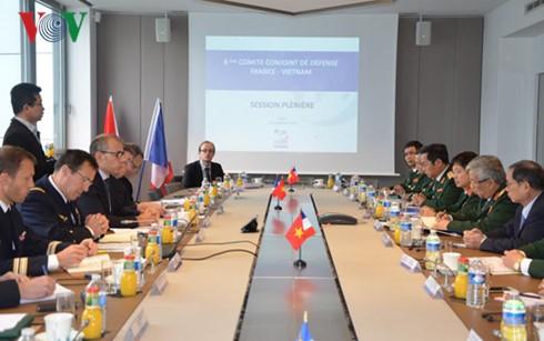 Die 2. Konsultation über Verteidigungspolitik zwischen Vietnam und Frankreich - ảnh 1