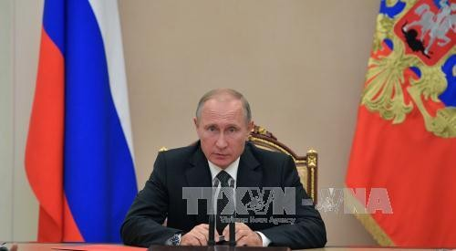 Russlands Präsident: Die Verbesserung der bilateralen Beziehungen hängt von den USA ab - ảnh 1