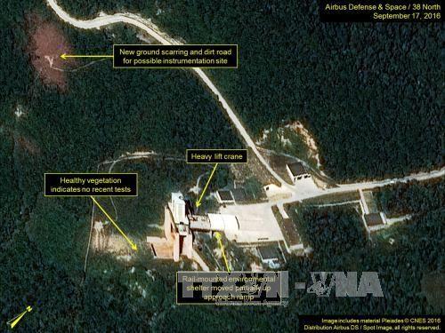 Zeichen für die Vorbereitung Nordkoreas auf einen Atombomben-Test - ảnh 1