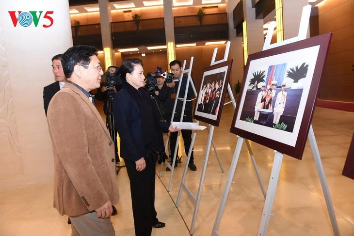 Parlamentspräsidentin Nguyen Thi Kim Ngan überprüft die Probe der Konferenz APPF-26 - ảnh 1