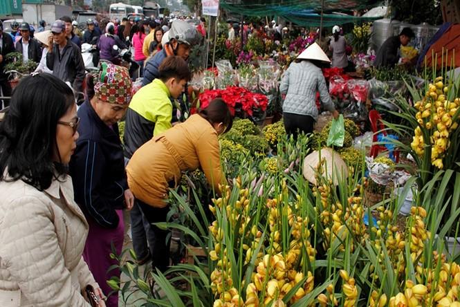 Hang-Markttag in Hai Phong in den letzten Tagen des Jahres nach dem Mondkalender - ảnh 1