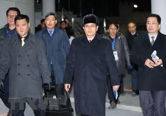 Nordkorea bewertet die Vorbereitung für die Olympischen Spiele in Pyeongchang als positiv - ảnh 1