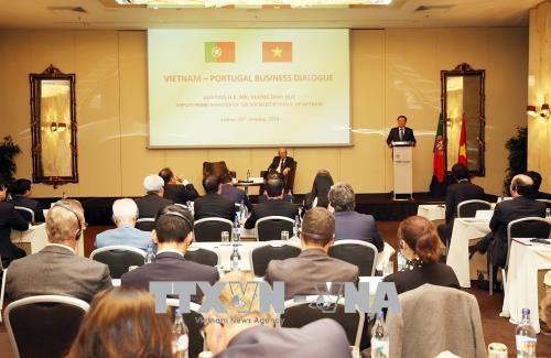 Viele Möglichkeiten der Zusammenarbeit für Unternehmen aus Vietnam und Portugal - ảnh 1