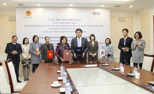 KOICA hilft dem Bauministerium bei der Ausarbeitung der Politik für sozialen Wohnungsbau - ảnh 1