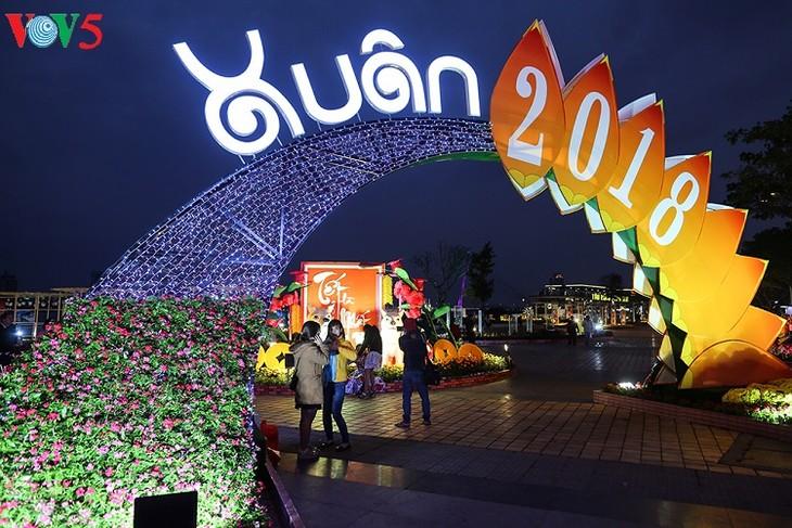 Die Bewohner erwarten fröhlich das Neujahrsfest nach dem Mondkalender - ảnh 2