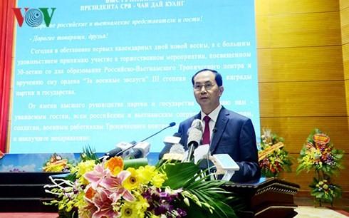 Aufbau des tropischen Zentrums Vietnam-Russland zum Zentrum mit internationalem Standard - ảnh 1