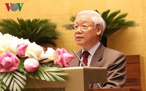 Der Beschluss der Sitzung des KP-Zentralkomitees über den Aufbau der Beamten auf allen Ebenen - ảnh 1