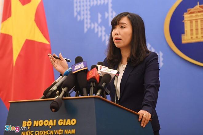 Vietnam protestiert gegen chinesisches Manöver auf der Inselgruppe Hoang Sa - ảnh 1