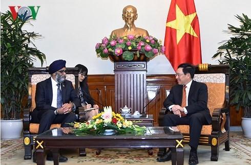 Vietnam und Kanada verstärken die Freundschaft und die Zusammenarbeit - ảnh 1