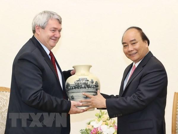 Premierminister Nguyen Xuan Phuc empfängt den Vize-Präsidenten des tschechischen Unterhauses - ảnh 1