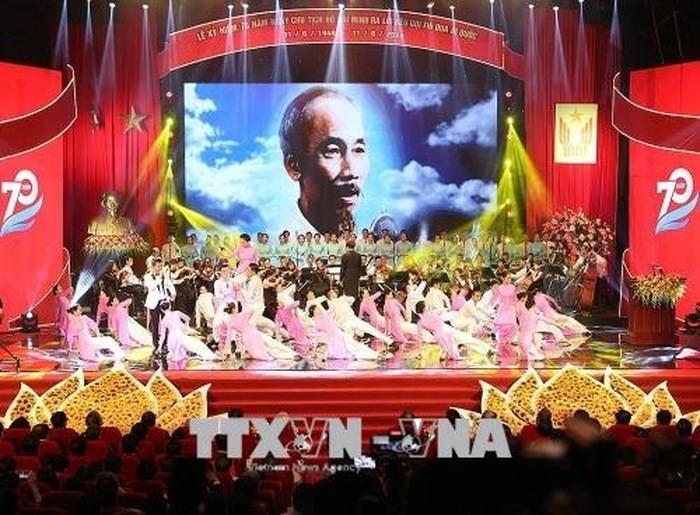 Feier zum 70. Jahrestag des Aufrufs des Präsidenten Ho Chi Minh zum Patriotismus - ảnh 1