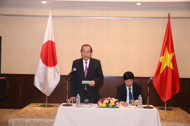 Vize-Premierminister Truong Hoa Binh besucht Japan - ảnh 1
