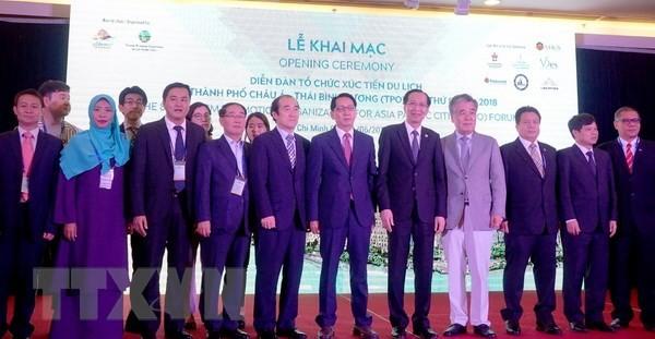 Eröffnung des Forums zur Tourismus-Förderung in den Städten in Asien-Pazifik-Region - ảnh 1