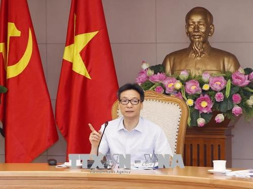 Vize-Premierminister Vu Duc Dam leitet die Sitzung über Lebensmittelssicherheit - ảnh 1