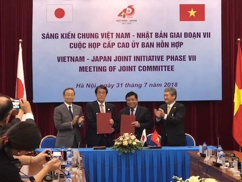 Beginn der gemeinsamen Initiative zwischen Vietnam und Japan - ảnh 1