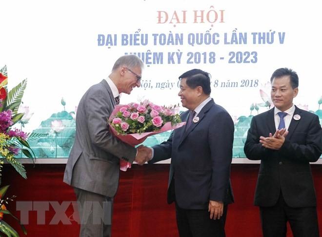 Nguyen Chi Dung wird zum Vorsitzenden der Vietnam-Deutschland-Freundschaftsgesellschaft gewählt - ảnh 1