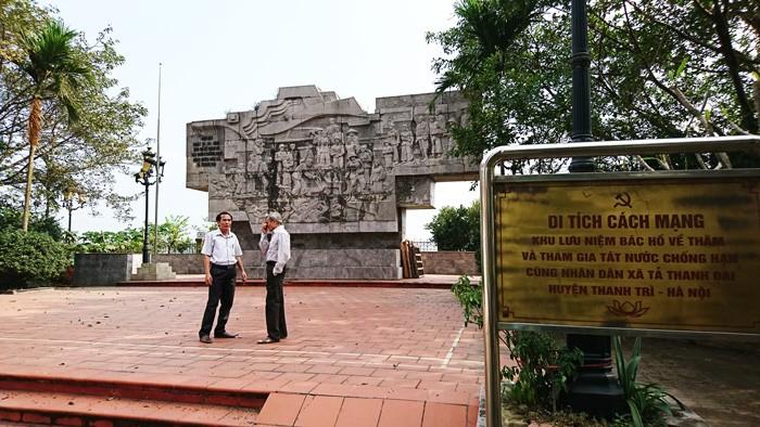 Gemeinde Ta Thanh Oai erinnert an Wasserschöpfung des Präsidenten Ho Chi Minh - ảnh 2
