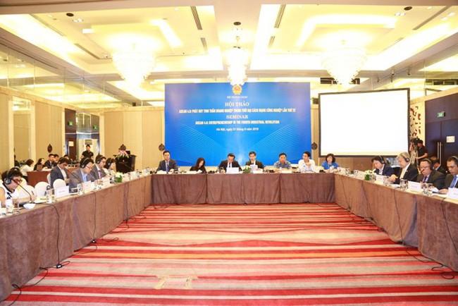 Gespräch über Konferenz des Weltwirtschaftsforums über ASEAN 2018 - ảnh 1