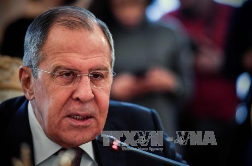 Moskau: Großbritannien will der EU und den USA die feindliche Politik gegen Russland aufzwingen - ảnh 1