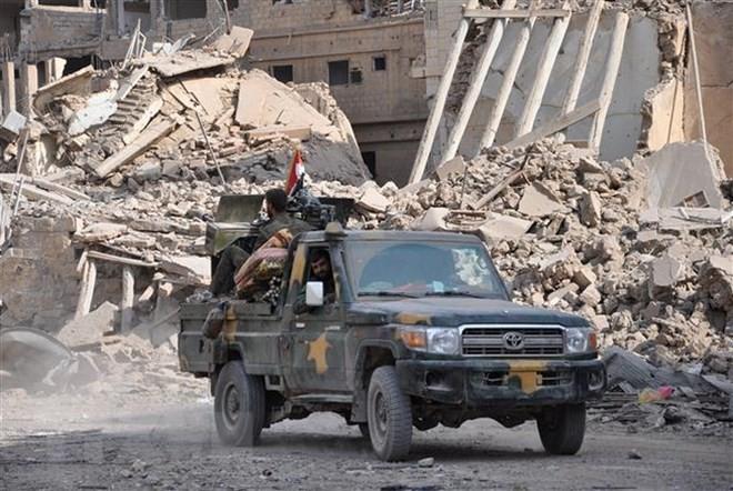 Syrien: die von den USA unterstützten Kräfte greifen Ostsyrien an - ảnh 1
