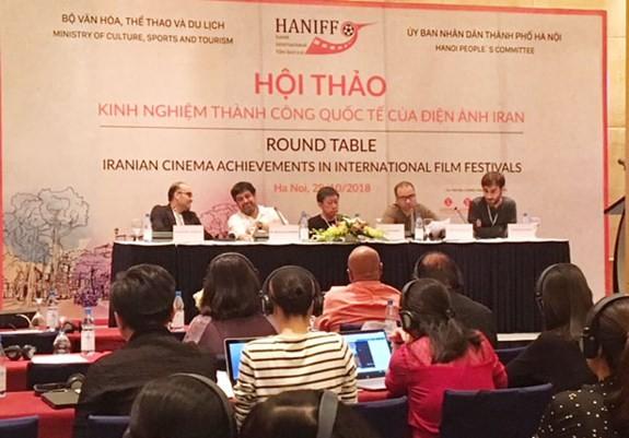 Vietnam und Iran teilen Erfahrungen in der Entwicklung der Kinokunst - ảnh 1
