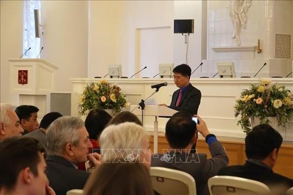 Eröffnung des Forums der Jugendliche Russlands und Vietnams - ảnh 1